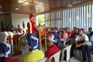 Coldiocesano celebran novena de navidad