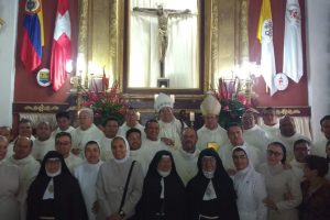 Condecoración a misioneros (Orden de la Candelaria)