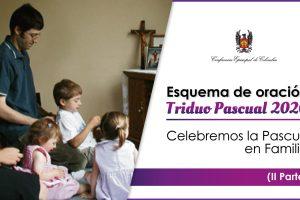Triduo Pascual 2020: celebremos la Pascua en familia
